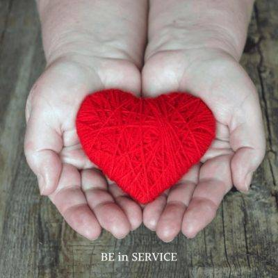 Give Service and Feel Good