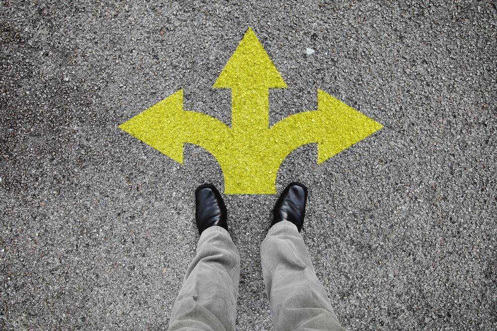 Relation between stress reduction and decision making