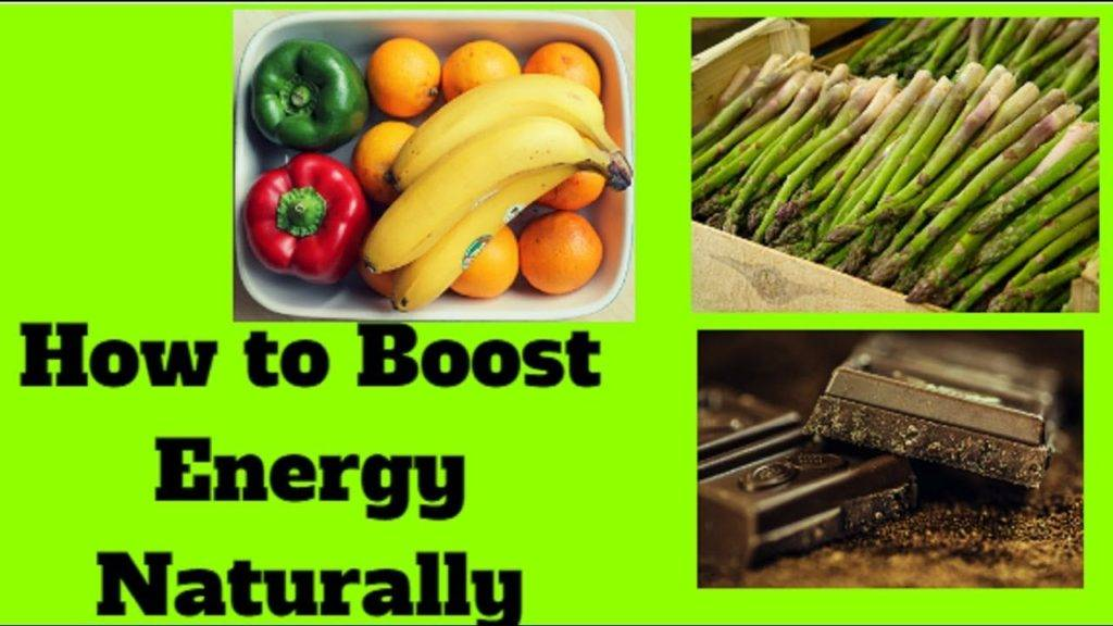 Take Healthy Diet to Boost Energy