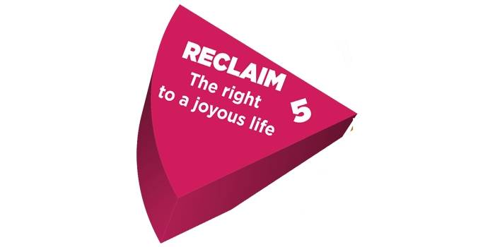 Reclaim the right to a joyous life