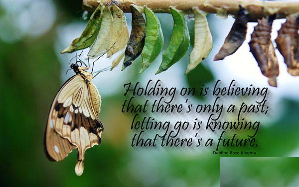 Letting go of someone for better future
