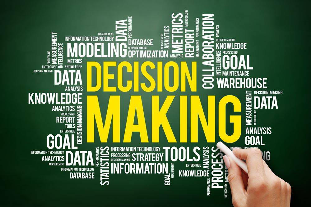 decision making tools and techniques.