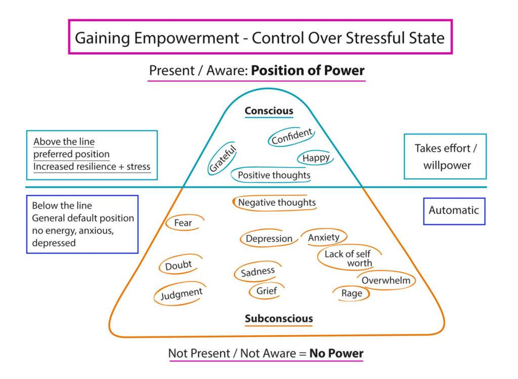 Gain Empowerment - Control Over Stressful State